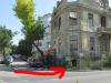 Краят на една пешеходна пътека във Варна